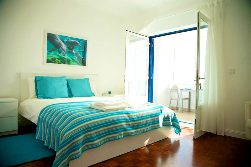 Hostel Suite mit Meerblick Ericeira Portugal