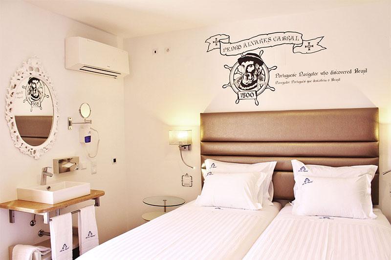 Hotel Doppelzimmer Breakfast Frühstück Ericeira Portugal