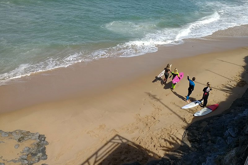 Surfcourse Surf Surfing Holidays Vacations Ericeira Portugal