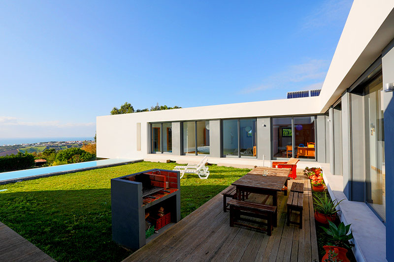 U-House Lodge Sea View Pool Sao Lourenco Ericeira Portugal Holidays Nature Surfing Vacations