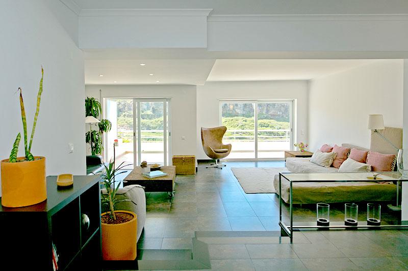 Praia da Casa Sea View Livingroom Sao Lourenco Ericeira Portugal