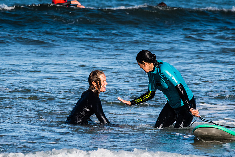 Surfkurse Organic São Julião Surf school Ericeira Portugal Ferien Surfen